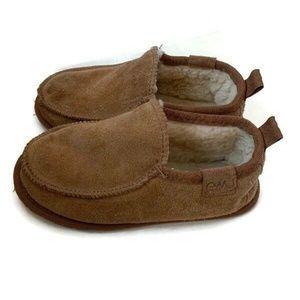 EMU Australia Amity Loafers Kids Size 13 Chestnut